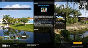 site da herdade do Sardanito da Frente